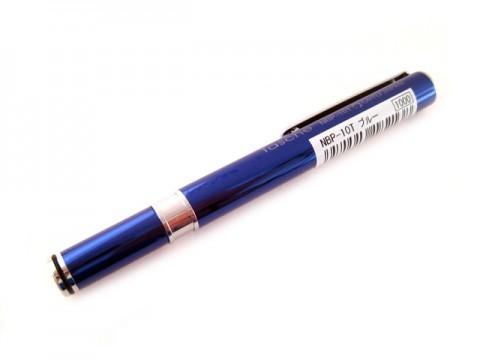 Ohto Tasche Needle Point Ballpoint Pen - 0.7mm - Blue Body