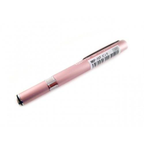Ohto Tasche Needle Point Ballpoint Pen - 0.7mm - Pink Body