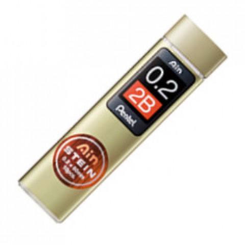 Pentel Stein Pencil Lead - 0.2mm - 2B