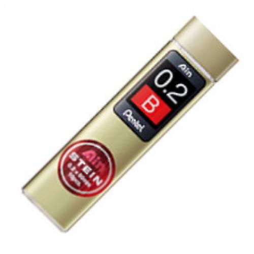 Pentel Stein Pencil Lead - 0.2mm - B