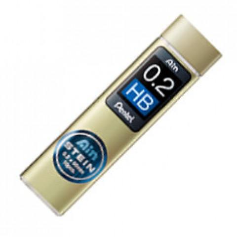 Pentel Stein Pencil Lead - 0.2mm - HB