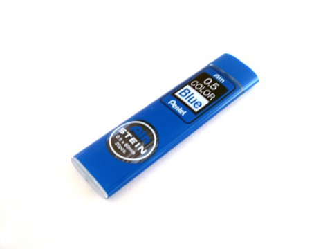 Pentel Stein Pencil Lead - 0.5mm - Blue