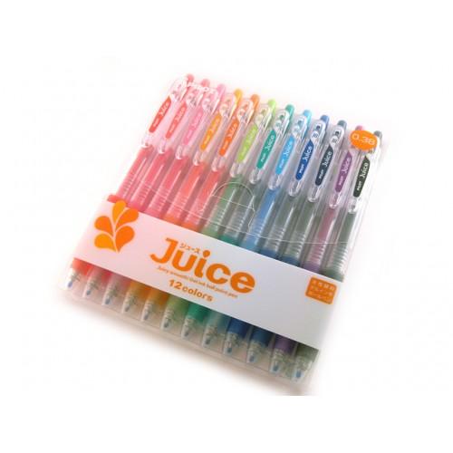 Pilot Juice Gel Pen - 0.38mm - 12-Color Set