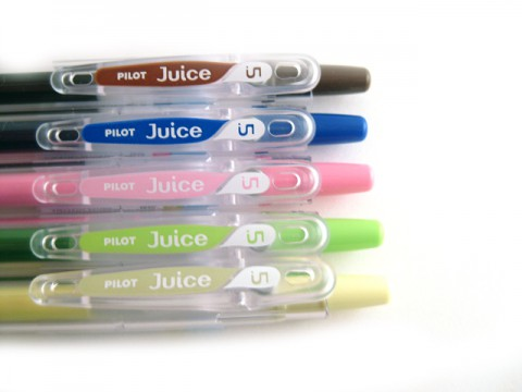Pilot Juice Gel Pen - 0.5mm - Pastel Green