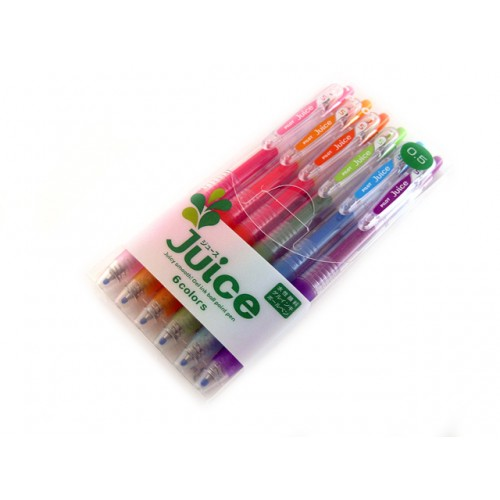 Pilot Juice Gel Pen - 0.5mm - 6-Color Set