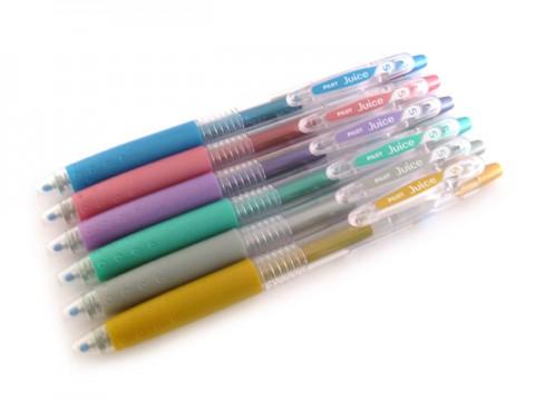 Pilot Juice Gel Pen - 0.5mm - Metallic Pink