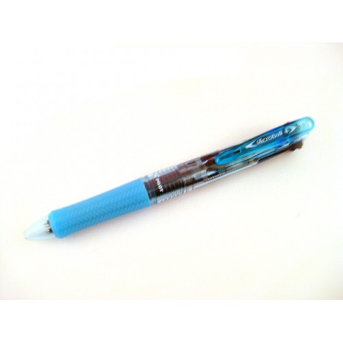 Pilot Acroball 4 Multi Pen 0.5mm - Clear Soft Blue Body