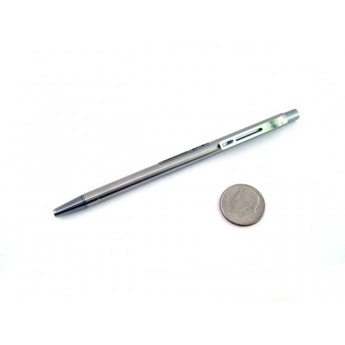 Pilot Birdy Stainless Steel Body Mini Ballpoint Pen 0.7 mm