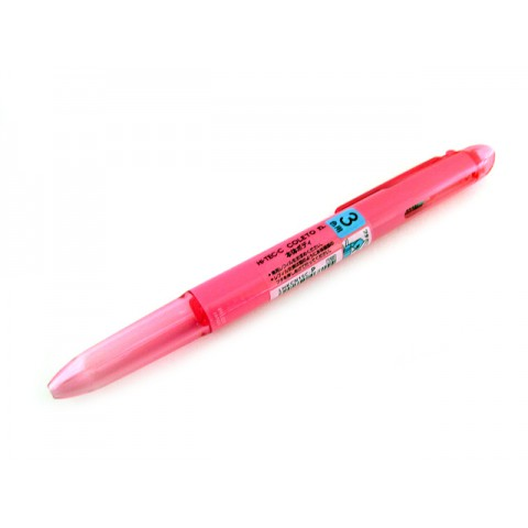 Pilot Hi-Tec-C Coleto N Body - 3-Color, Pink