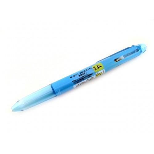 Pilot Hi-Tec-C Coleto N Body - 4-Color, Light Blue