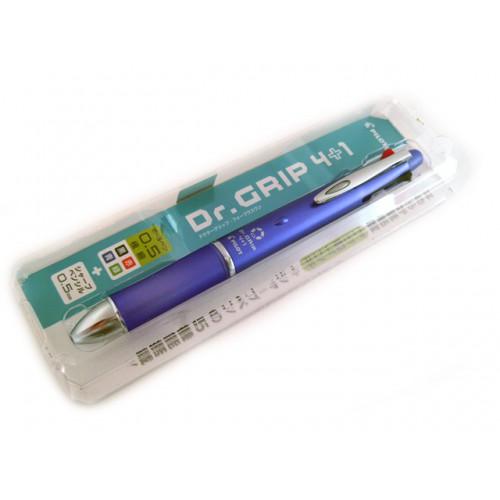 Pilot Dr Grip 4+1 Multi Pen - 0.5mm - Lavender Body
