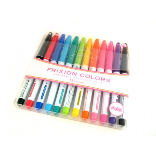 Pilot Frixion Colors Erasable Marker - 12-Color Set