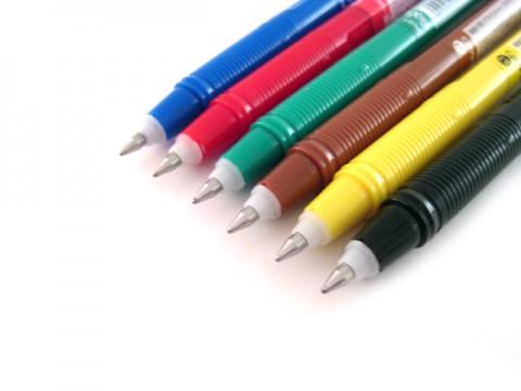Pilot Frixion Color-Pencil Gel Pen - 0.7mm - Coral Pink