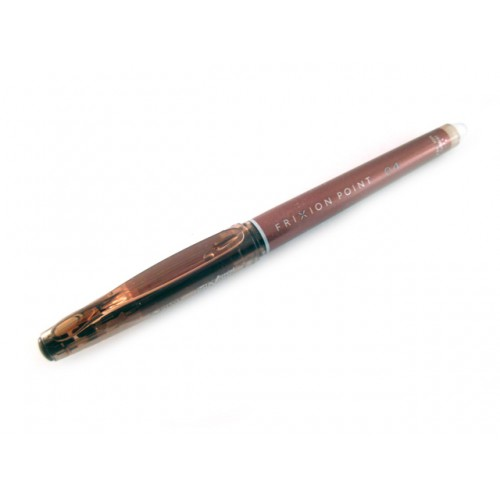 Pilot FriXion 0.4mm    Erasable Pen - Brown