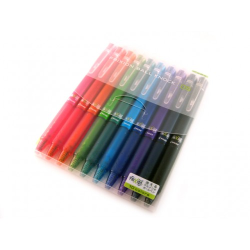 Pilot Frixion Ball Knock 0.5mm - 10-Color Set