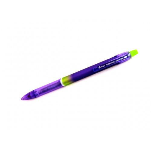 Pilot Fure Fure Sprinter Shaker Mechanical Pencil - 0.3 mm - Violet / Green