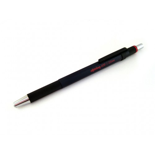 Rotring 600 Lead Holder Drop System - Black Body - 2mm