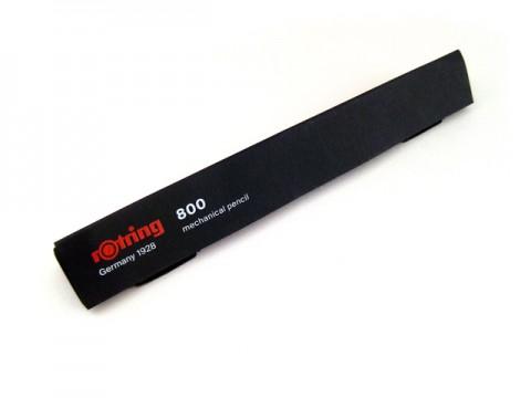 Rotring 800 Lead Holder Clutch Knock System - Black Body - 2mm