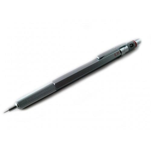 Rotring 600 Drafting Pencil - Silver Body - 0.35mm