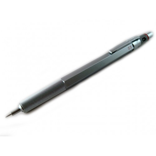 Rotring 600 Drafting Pencil - Silver Body - 0.5mm
