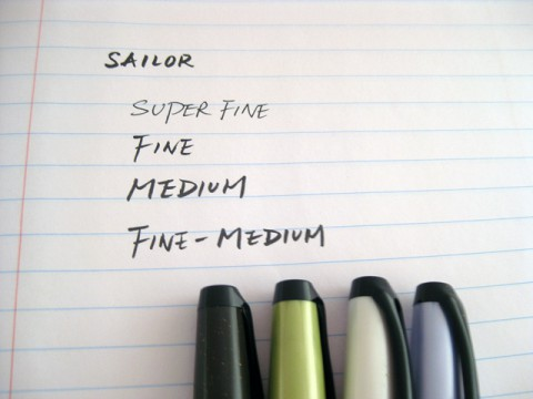 Sailor Fude Nagomi Brush Pen - Fine