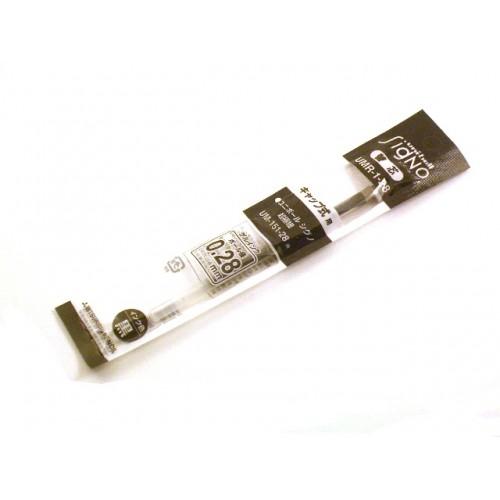 Uni Signo DX 0.28mm Refill - Black