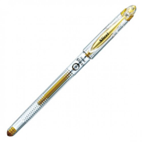 Pentel Slicci Metallic Gel Pen 0.8mm - Gold