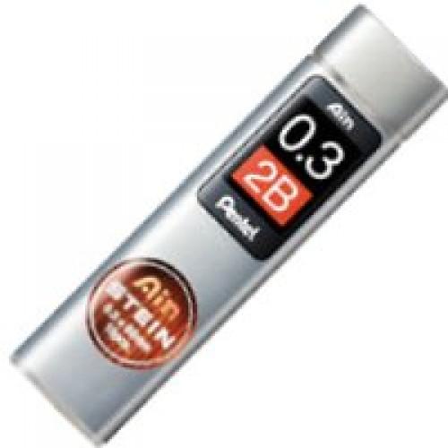 Pentel Stein Pencil Lead - 0.3mm - 2B