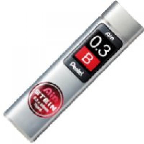 Pentel Stein Pencil Lead - 0.3mm - B