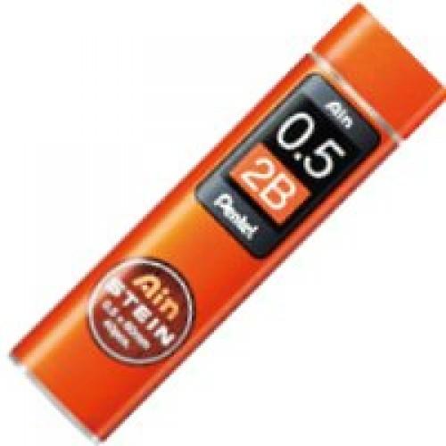 Pentel Stein Pencil Lead - 0.5mm - 2B