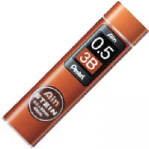 Pentel Stein Pencil Lead - 0.5mm - 3B