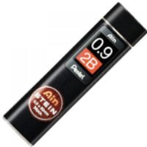 Pentel Stein Pencil Lead - 0.9mm - 2B
