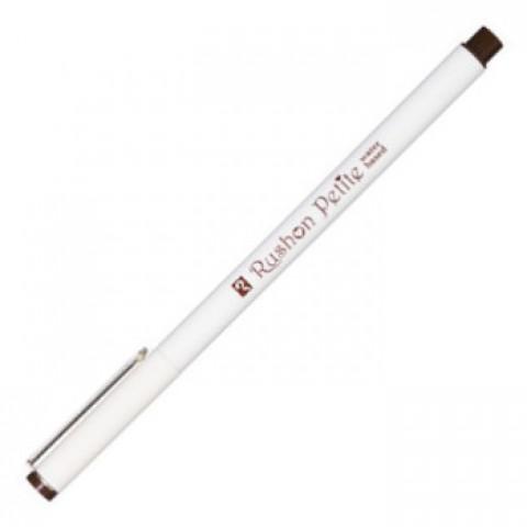 Teranishi Rushon Petite Pen - 0.3 mm - Dark Brown
