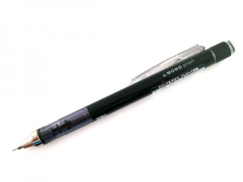 Tombow Mono Graph Mechanical Pencil - 0.3mm - Black Body