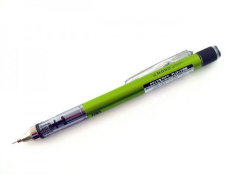 Tombow Mono Graph Mechanical Pencil - 0.3mm - Lime Body
