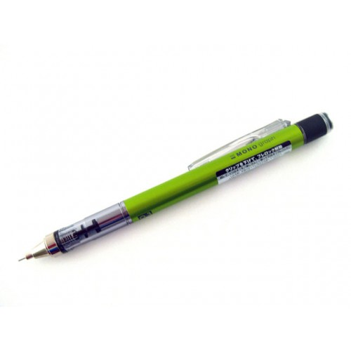 Tombow Mono Graph Mechanical Pencil - 0.3mm - Lime Body