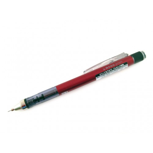 Tombow Mono Graph Mechanical Pencil - 0.3mm - Red Body