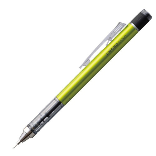 Tombow Mono Graph Mechanical Pencil - 0.5mm - Lime Body