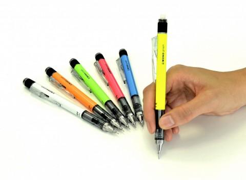 Tombow Mono Graph Mechanical Pencil - 0.5mm - Neon Green Body