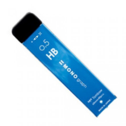 Tombow Mono Graph MG Lead - 0.5mm - HB - Light Blue Case