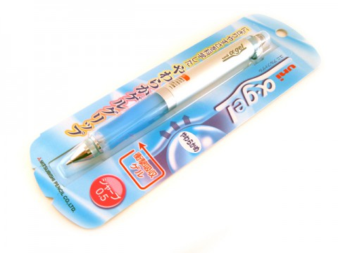 Uni Alpha Gel Mechanical Pencil - Blue Grip 0.5mm