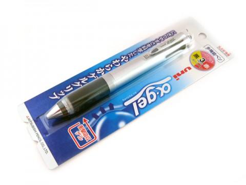 Uni Alpha Gel Multi Pen - Black Grip