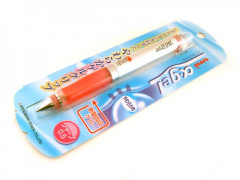 Uni Alpha Gel Mechanical Pencil - Pink Grip 0.5mm
