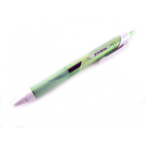 Uniball Jetstream Ballpoint Pen 0.7mm - Green Body - Black Ink