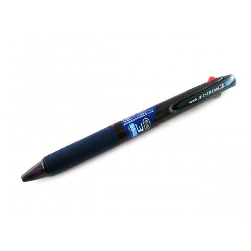 Uniball Jetstream 3 Color Multi Pen 0.5mm - Transparent Navy Body