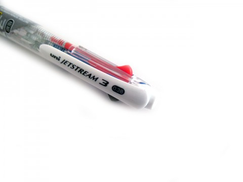 Uniball Jetstream 3 Color Multi Pen 0.38mm - Transparent Body