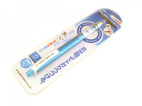Uni Kuru Toga Mechanical Pencil - Blue Body 0.7mm