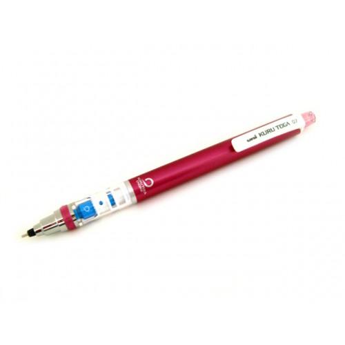 Uni Kuru Toga Mechanical Pencil - Pink Body 0.7mm
