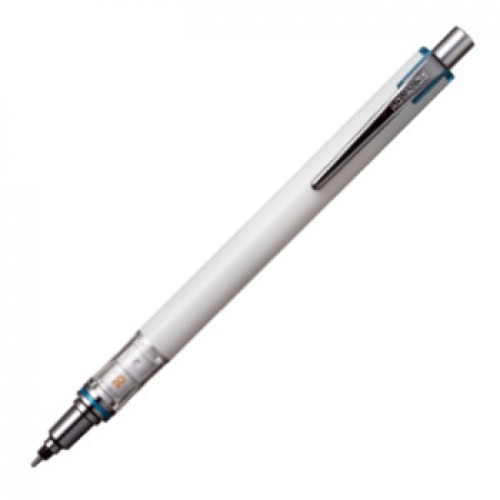Uni Kuru Toga Advance Mechanical Pencil - 0.5mm - White