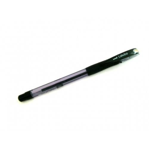 Uni Lakubo Ballpoint Pen - 1.4 mm - Black